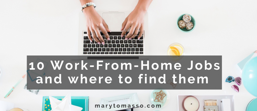 10 Jobs you can do from home and where to find them